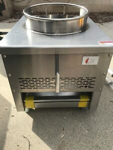Wok Range Natural Gas Commercial Restaurant Grill Stove Burner Chinese 13 New