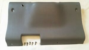1994 1997 Dodge Ram Knee Bolster Lh Lower Dash Steering Column Cover Mist Gray