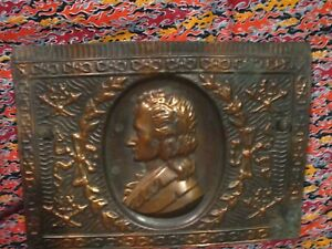 Antique Copper Tin Fireplace Summer Cover