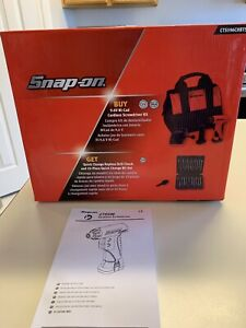 Snap On Cts596 Cordless Screwdriver Kit