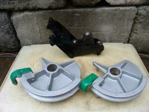 Greenlee 1 1 2 And 2 Inch Imc Bending Shoes And Roller Support For 555 Bender 5