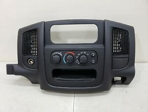 2002 2005 Dodge Ram 1500 Center Dash Trim Panel Radio Surround Bezel 02 05 Ram