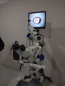 5 Steps Dental Surgical Microscope With Led Light Source Accessories