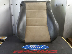 2003 2004 03 Ford Mustang Cobra Svt Terminator Bucket Leather Suede Seat Tan