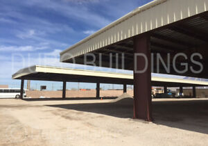 Durobeam Steel 40x75x16 Metal Buildings I beam Frame All Open Roof System Direct