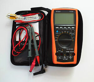 New vc99 auto range digital multimeter thermo capacitance resistance