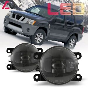 Led For Nissan Xterra 05 15 Clear Lens Pair Bumper Fog Light Lamp Oe Replacement