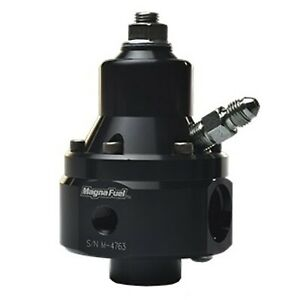 Magnafuel Mp 9950 b blk Fuel Pressure 35 85psi Two 8an Inlets 8an Out 1 8in Npt