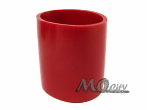 2 75 70mm Rubber Intercooler Turbo Air Intake Pipe Coupler Straight Hose Red
