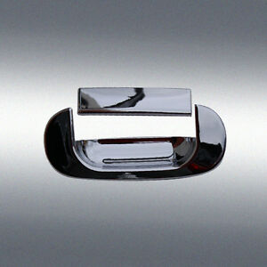 For 94 01 Dodge Ram 1500 2500 3500 Chrome Tailgate Door Handle Covers Trim 2pcs