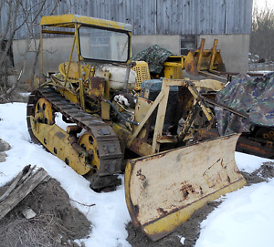Meyer Snow Plow Assembly For Cletrac To Oliver Hg And Oc 3 Crawlers