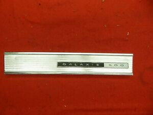 Used 66 Ford Galaxie 500 Glove Box Door Finish Panel Trim c6az 6306036 a
