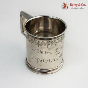 Childs Cup Sterling Silver Gorham Silversmiths 1872