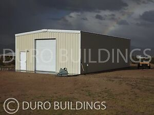 Durobeam Steel 40x60x10 Metal Rigid Frame I beam Building American Made Direct