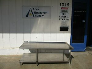 Stainless Steel Commercial Restaurant Equipment Stand 71 X 30 X 24 4055