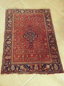 Great Quality Antique Persian Bidjar Rug Late 1800 S