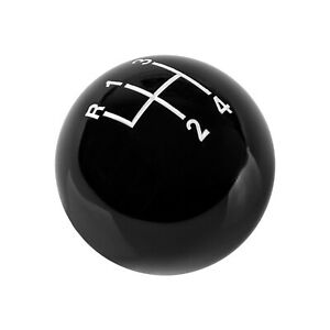 Hurst 1630103 Shift Knob Black 4 Speed 3 8 16 Threads