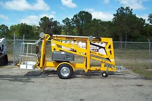 Haulotte 3522a 43 Towable Boom Lift 20 Outreach former Bil jax new 2019s