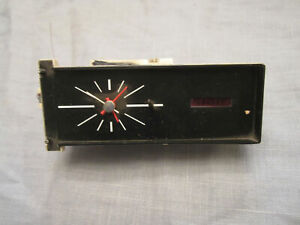 1967 Ford Galaxie Dash Clock C7az 15000 a