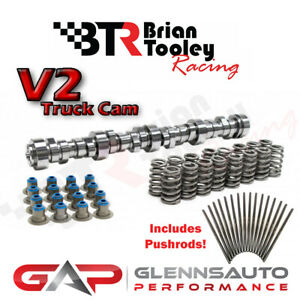 Brian Tooley Racing btr New Stage 1 V2 Ls Truck Cam Kit pushrods 4 8 5 3 6 0