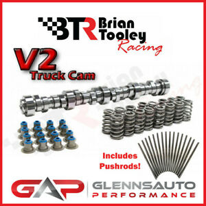 Brian Tooley Racing btr New Stage 3 V2 Ls Truck Cam Kit pushrods 4 8 5 3 6 0