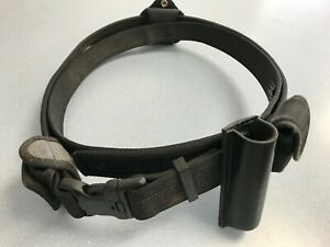 Blackhawk Large Men s Black Law Enforcement Utility Belt With Pouches