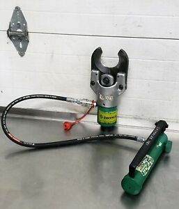 Greenlee 751 m2 Hydraulic Cable Wire Cutter W 767 Pump 2