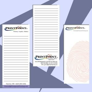 100 Personalized Note Pads With Your Custom Image Text