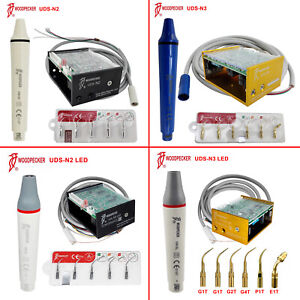 Woodpecker Uds n2 n3 Led Ultrasonic Endo Dental Scaler W Handpiece cable Hw 5l
