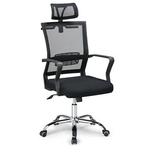 Ergonomic High Back Executive Computer Desk Task Ergonomic Office Chair Black