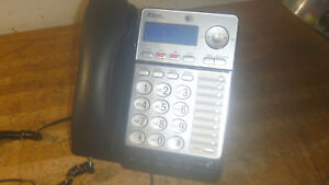 At t 2 Line Home office Phone Caller Id Speaker Conference Hs Jack Ml17928