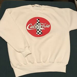 Vintage California Coca Cola Sweater Mens XL Extra Large