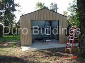Durobeam Steel 30x40x11 Metal Garage Storage Building Vehicle Workshop Direct