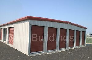 Duro Steel Prefab Mini Self Storage 40x360x8 5 Metal Building Structures Direct