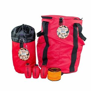 Tree Climbers Throw Line Kit 3 Throw Bags Rope Bag Mini Bag 166 Line