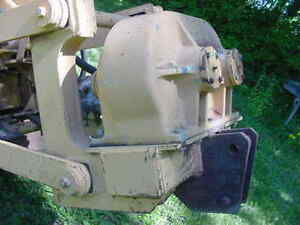 Case P60 Vibratory Plow Attachment Off Dh4b Trencher