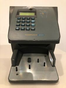 Recognition Systems Handpunch 2000 Hp 2000 Biometric Time Clock