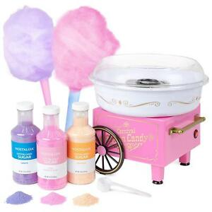 Nostalgia Pcm305bun Hard Sugar free Hard Candy Cotton Candy Maker free 3 Jars