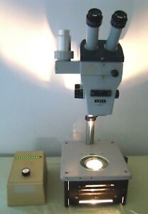 Zeiss Stemi Trinocular Stereo Zoom Microscope Diagnostic Instruments Stand