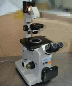 Nikon Diaphot Phase Inverted Microscope a1
