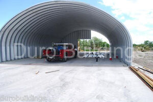 Durospan Steel 40x40x16 Metal Building Farm Storage Open Ends Factory Direct