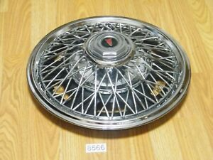 New 14 Pontiac Wire Wheel Hub Cap Wheel Cover Aftermarket Universal Fit