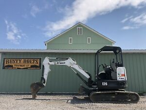 2012 Bobcat E26 Mini Excavator 1926 Hours Aux Hyd Clean Low Cost Shipping
