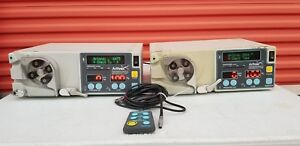 Lot Of 2 Arthrex Continuous Wave Iii Arthroscopy Pump Ref Ar 6475 And Ar 6476