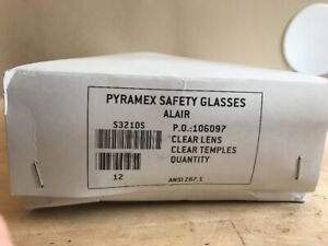 Pyramex Alair Safety Glasses Lot Of 15 Pairs Clear Black