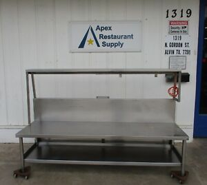 Stainless Steel Work Table equipment Stand 86 X 27 4056