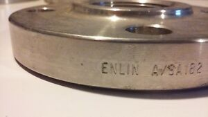 5 Stainless Steel Flange W 1 1 2 Threaded Hole Made In Philippines Pair