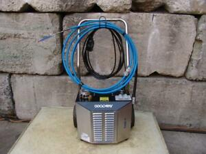 Goodway Ream a matic Ram 4 60 Chiller Tube Cleaner New Condition