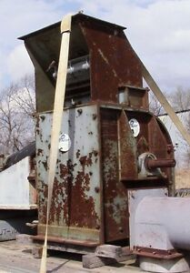 Prater Hammer Mill Model G7 W 50 Hp Motor Usa Grain Sawdust Woodchip Grinder