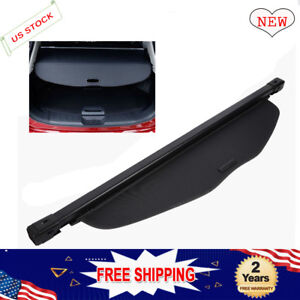 Fit 2014 2018 Nissan Rogue X trail Car Retractable Cargo Cover Security Shield